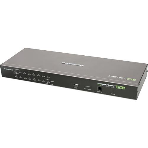 IOGEAR 16-Port PS/2 USB Combo KVM Switch