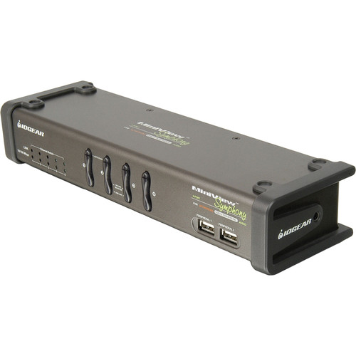 IOGEAR Miniview Symphony Multi-function 4-Port KVM Switch