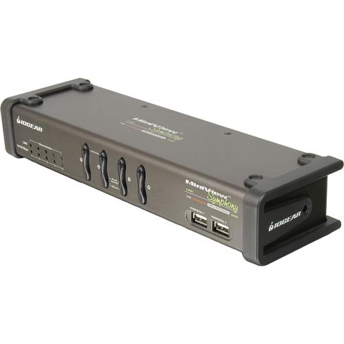 IOGEAR Miniview Symphony Multi-function 4-Port KVM Switch