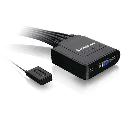 IOGEAR 4-Port USB Cable KVM Switch