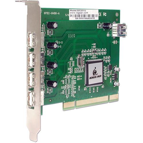 IOGEAR 5-Port USB 2.0 PCI Card