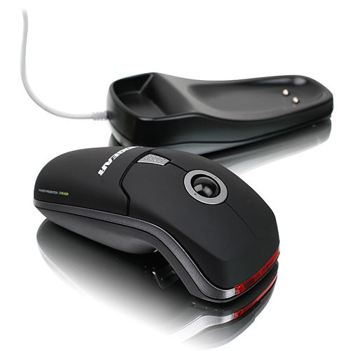 IOGEAR Phaser 3-in-1 Wireless Presentation Mouse - USB