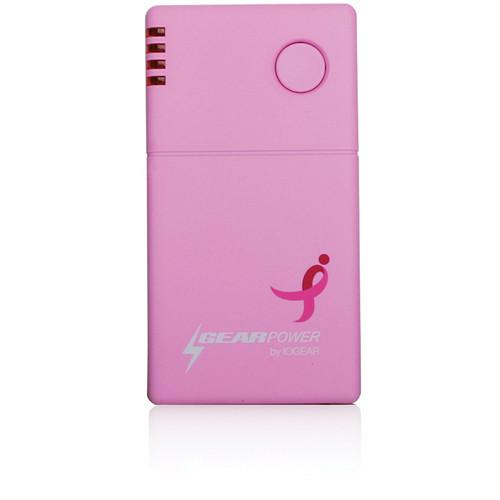 IOGEAR GearPower Mobile Pocket Power 2000 (Susan G. Komen Edition)