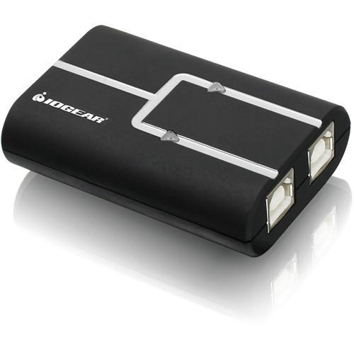 IOGEAR GUB211W6 2-Port USB 2.0 Printer Auto Sharing Switch