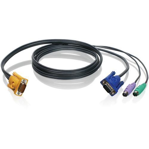 IOGEAR 6' (1.8 m) PS/2 & VGA Bonded KVM Cable