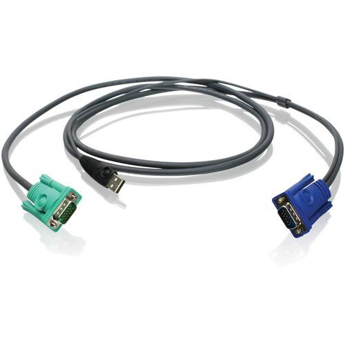 IOGEAR 6' (1.8 m) USB/VGA Bonded KVM Cable