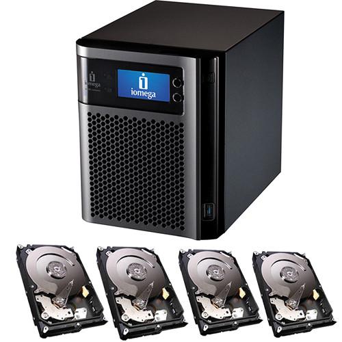 Iomega 12TB (4 x 3TB) StorCenter px4-300d Network Storage Enclosure Kit