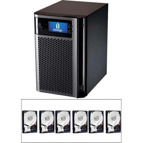 Iomega 12TB (6x 2TB) STORCENTER px6-300D Network Storage Enclosure Kit