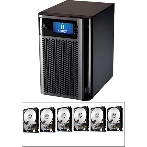 Iomega 12TB (6x 2TB) Enterprise StorCenter px6-300d Network Storage Enclosure Kit