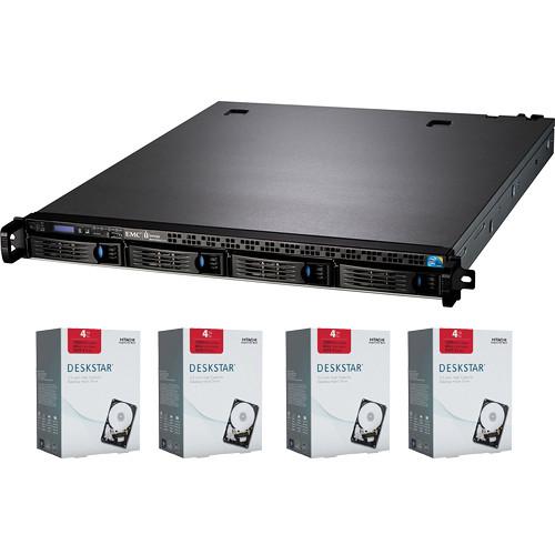 Iomega 16TB StorCenter px4-300r Network Storage Enclosure (4 x 4TB Hard Drives)
