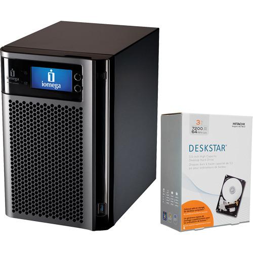 Iomega 18TB (6x 3TB) StorCenter px6-300d Network Storage Enclosure Kit