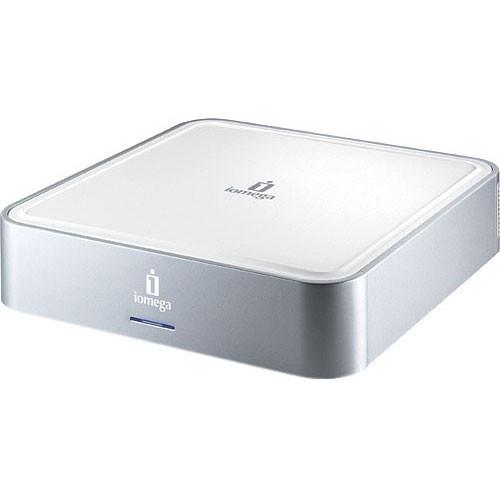 Iomega 500GB MiniMax External USB 2.0 Hard Drive with Hub - Mac/Win
