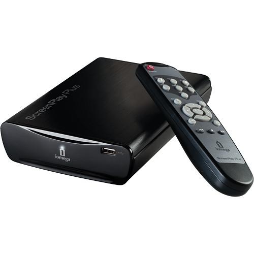 Iomega 1TB ScreenPlay Plus HD Multimedia Hard Drive