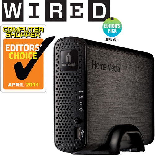 Iomega 2TB Home Media Network Hard Drive, Cloud Edition