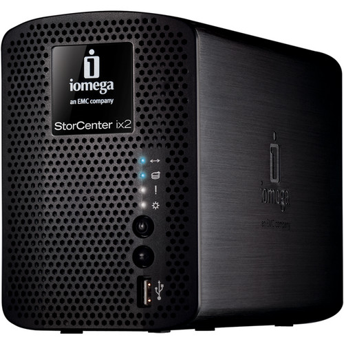 Iomega 6TB (2x3TB) StorCenter ix2-200 Network Storage, Cloud Edition