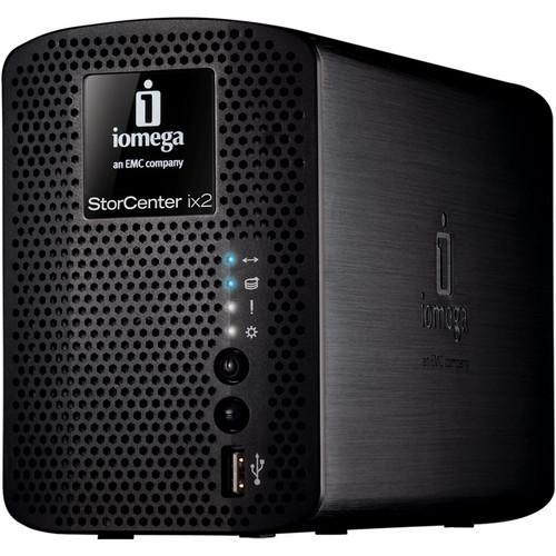 Iomega 6TB (2x3TB) StorCenter ix2-200 Network Storage, Cloud Edition