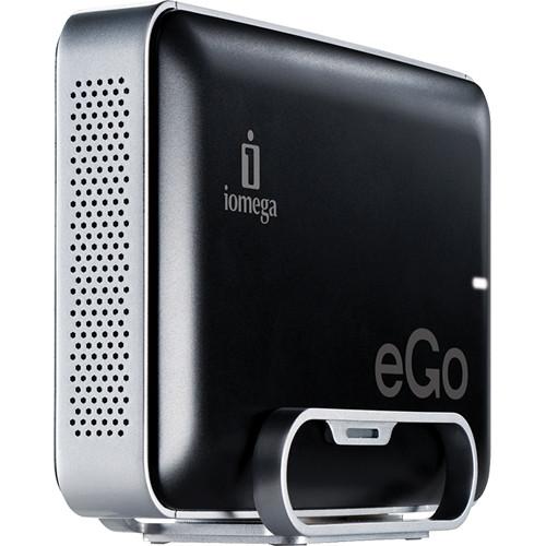 Iomega 1TB eGo Jet Black Desktop Hard Drive