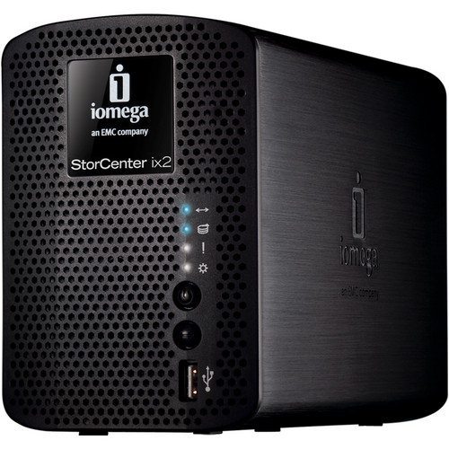Iomega 4TB (2x2TB) StorCenter ix2-200 Network Storage, Cloud Edition