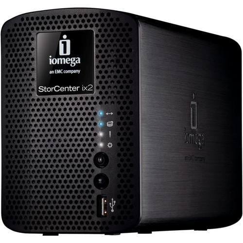 Iomega 4TB (2x2TB) StorCenter ix2-200 Network Storage, Cloud Edition