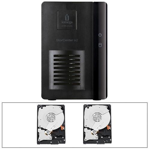 Iomega StorCenter ix2-dl 2 Bay Diskless Network Storage Array Kit