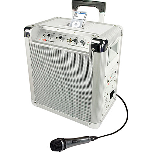 ION Audio BLOCK ROCKER Mobile PA System for iPod