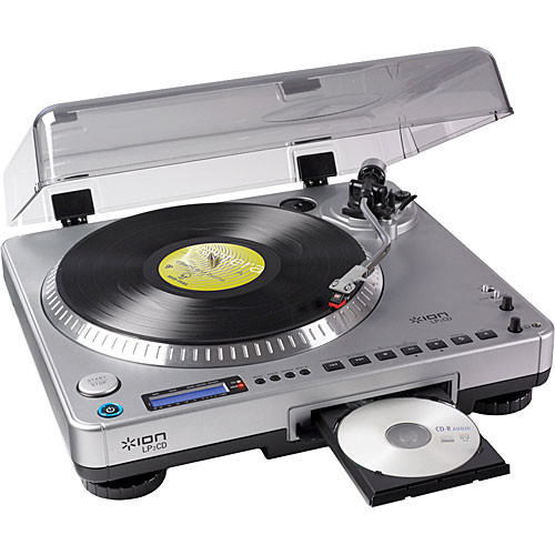 ION Audio LP2CD USB Turntable with Direct to CD Recording
