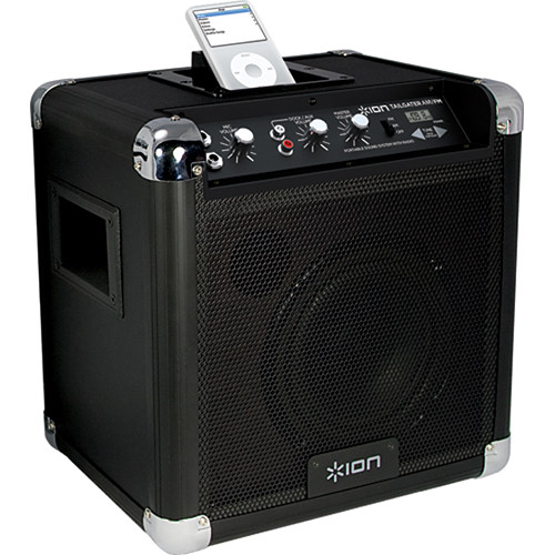 ION Audio TAILGATER AM/FM Portable PA System with iPod Dock