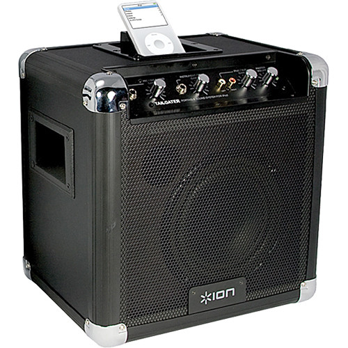 ION Audio Tailgater - Portable PA System with iPod Dock