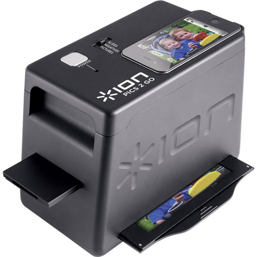 ION Audio iPics 2 Go Scanner For iPhone 4/4S