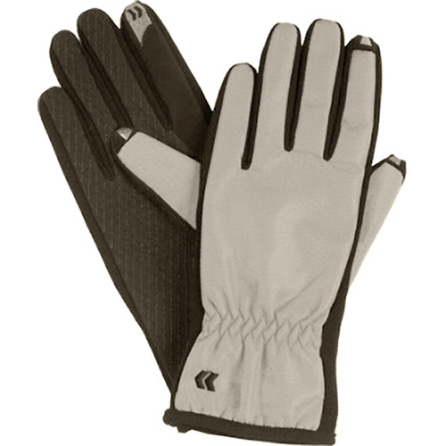 Isotoner Women's SmarTouch Gloves (Platinum)