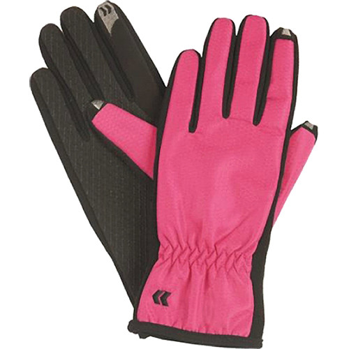 Isotoner Women's smarTouch Gloves - Ultra Plush Lined (Really Red) (Medium/Large)