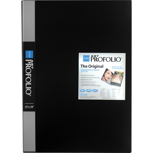 "Itoya Art Profolio Original Storage/Display Book (13 x 19"", 24 Two-Sided Pages)"