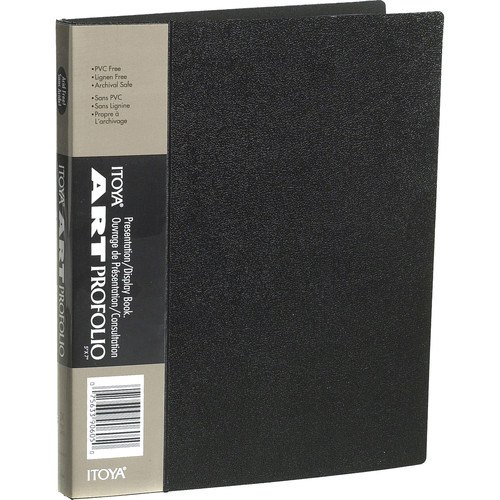 "Itoya Art Profolio Original Storage/Display Book (5 x 7"", 24 Two-Sided Pages)"