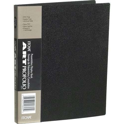 "Itoya Art Profolio Original Storage/Display Book (5 x 7"", 24 Two-Sided Pages)"