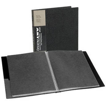 "Itoya Art Profolio Original Storage/Display Book (8 x 10"", 24 Two-Sided Pages)"