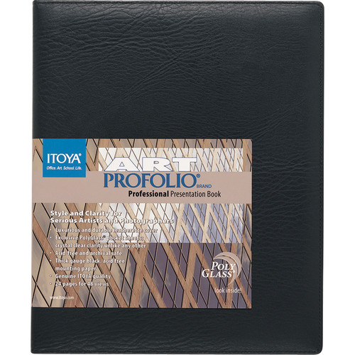 Itoya Art Profolio Professional with Polyglass Pocket Sheets - 11 x 17""