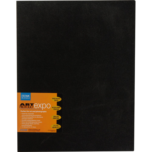 "Itoya Art Profolio EXPO- 11x14"" (Black)"