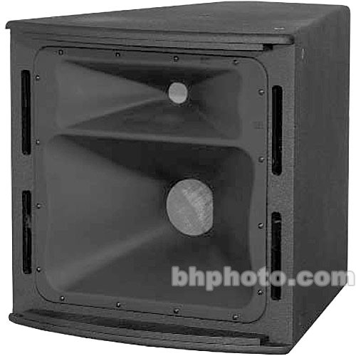 """JBL AM6200/95 8"""" 2-Way 350W High-Power Mid-High Frequency Loudspeaker with Rotatable Horn (Black)"""