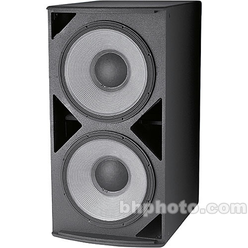 "JBL ASB6128 High-Power Dual 18"" Subwoofer (Black)"