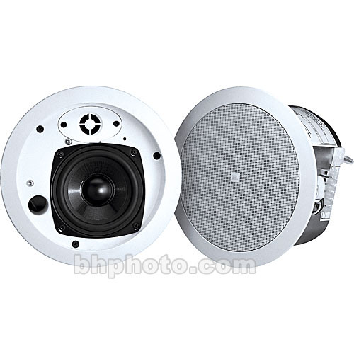 JBL Control 24CT MicroPlus Ceiling Speaker for use with 70/100V Audio Distribution (Pair)