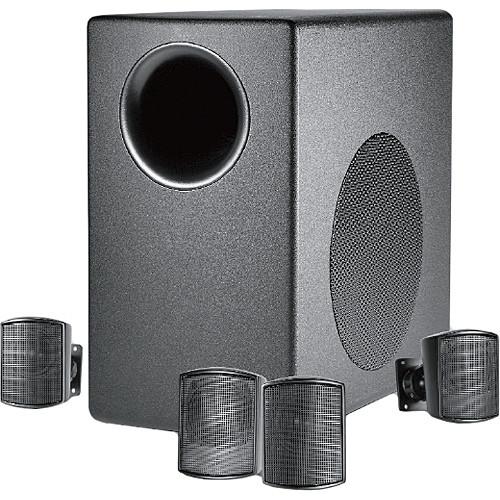 JBL Control 50 Pack Loudspeaker System with Subwoofer (Black)