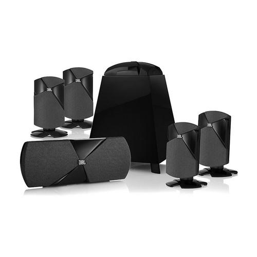 JBL Cinema 300 5.1 Surround Sound Home Theater Speaker System