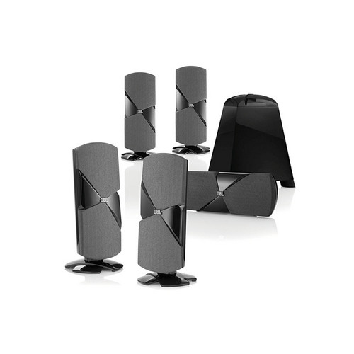 JBL Cinema 500 5.1 Surround Sound Home Theater Speaker System