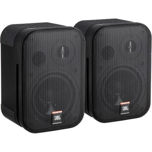 "JBL Control 1 Pro - 5"" Two-Way Professional Compact Loudspeaker (Pair, Black)"