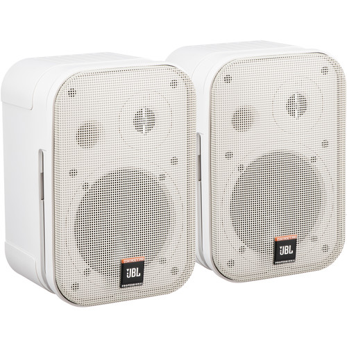 "JBL Control 1 Pro - 5"" Two-Way Professional Compact Loudspeaker (Pair, White)"