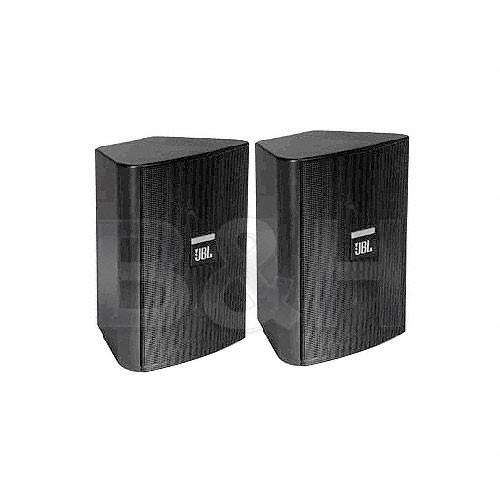 JBL Control 23 Ultra Compact Indoor/Outdoor Monitor (Pair, Black)