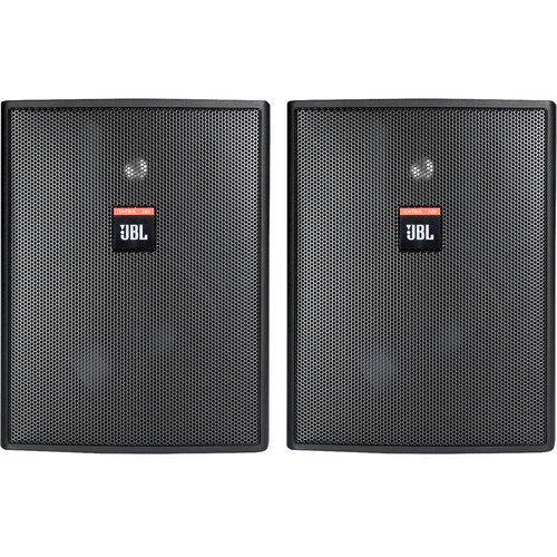 JBL Control 25AV-B Monitor -Black(Pair)