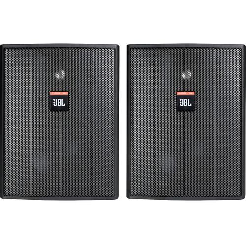 """JBL Control 25AV 5.25"""" 2-Way 200W Shielded Indoor/Outdoor Loudspeaker (Pair, Black)"""