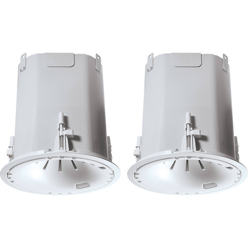 """JBL Control 47HC 6.5"""" 2-Way 150W Coaxial High-Ceiling Loudspeakers (Pair, White)"""