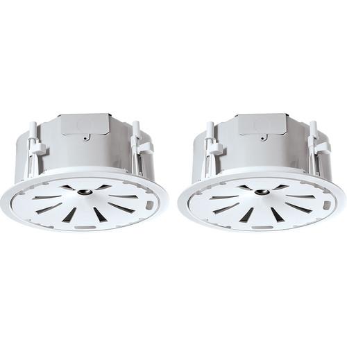 "JBL Control 47LP 6.5"" 2-Way 150W Coaxial Low-Profile Ceiling Loudspeakers (Pair, White)"